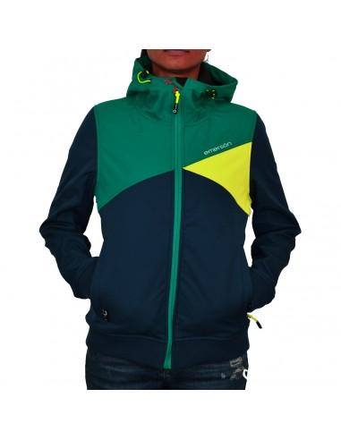 Emerson Μπουφάν Navy/Green/Yellow WR1444B