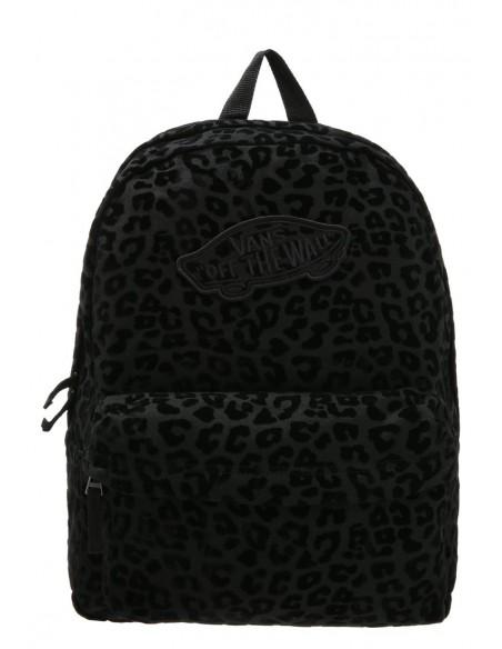 VANS Backpack V00NZ0KJY Black Leopard