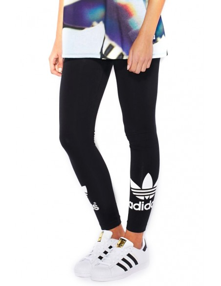 Adidas Originals Womens Linear Leggings Black AJ8081
