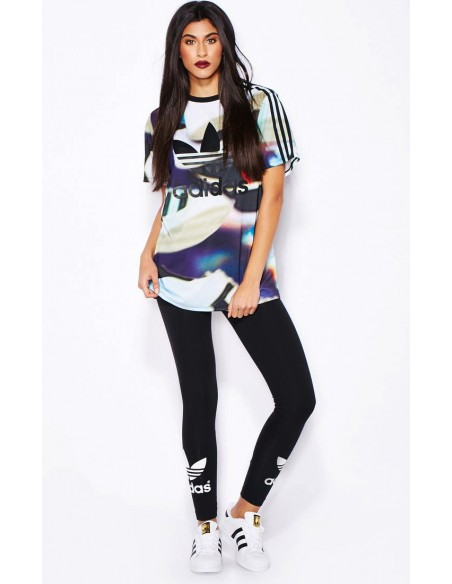Adidas Originals Womens Linear Leggings Black AJ8081