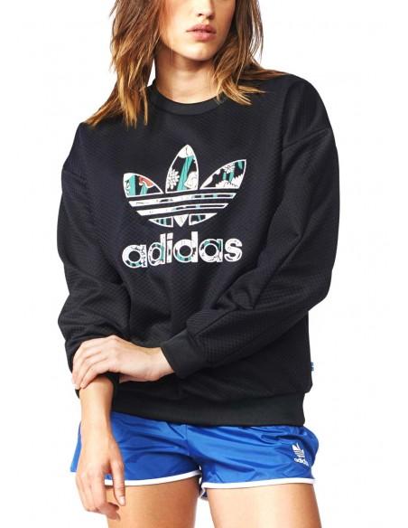 Adidas Originals Womens Sweatshirt Black AY7963