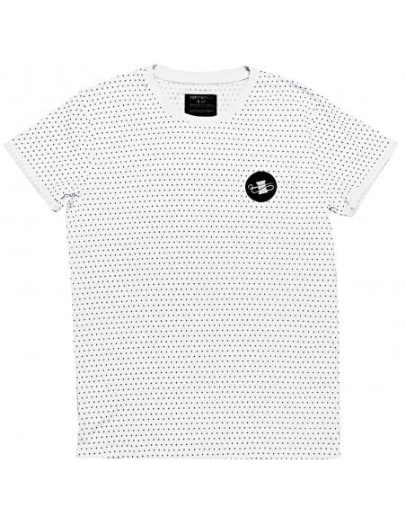 Ανδρική Μπλούζα Ponter Dots 17-1016 White