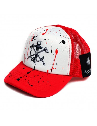 Reckless Καπέλο Anchor White/Red