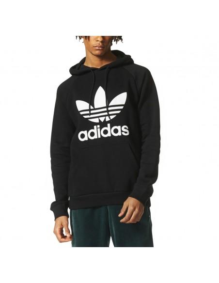 Adidas Originals Mens Hoddy 3Foil Black BR4852