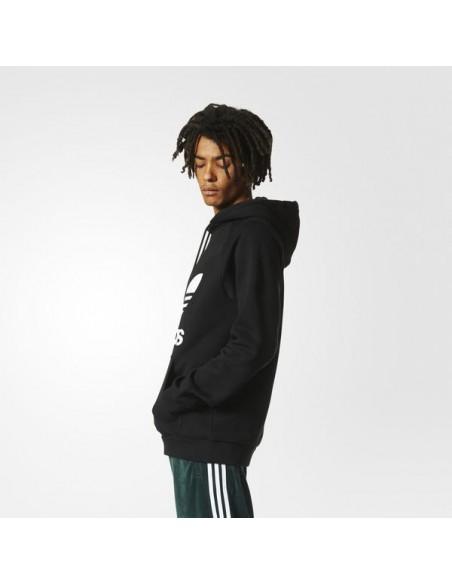 Adidas Originals Mens Hoddy 3Foil Black AB8291