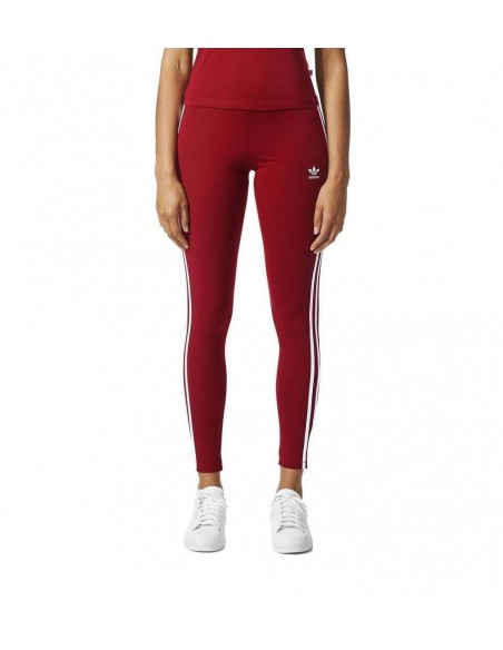 Adidas Originals Womens 3STR Leggings Bordeaux BP9502