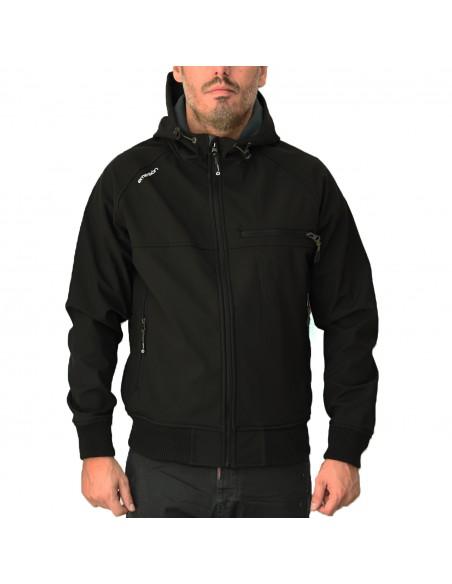Emerson Ανδρικό Μπουφάν Black/Grey EM11.17