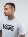 Vans Ανδρικό T-shirt VA313GATH Grey