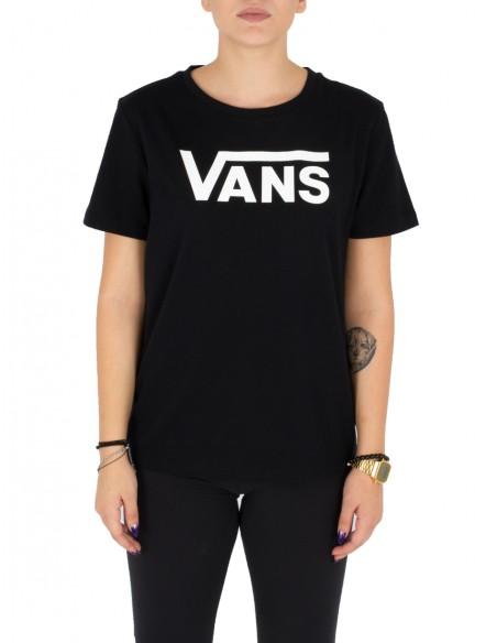 Vans Γυναικείο T-shirt VA34AYBLK Black