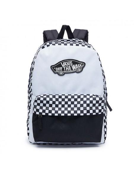 VANS Backpack V00NZ056M Black/White
