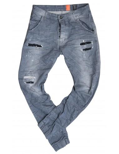Τζιν Ανδρικό Back 2 Jeans Boyfriend Fit M56 Grey