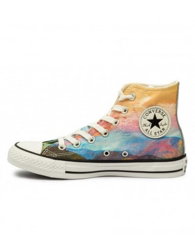 Converse All Star Chuck Taylor Hi 551630C HI SOLAR ORANGE/PURPLE DUSK/EGRET