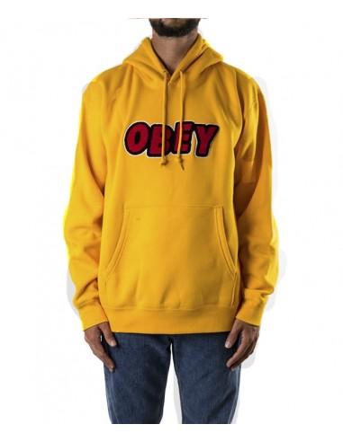 Obey Ανδρικό  Φούτερ  JUMBLE OBEY HOOD / GOLD -112470071