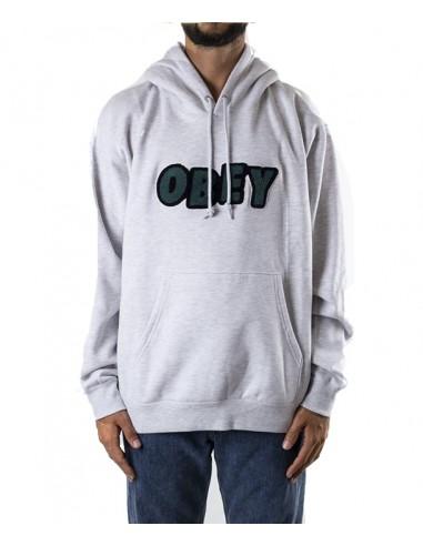 Obey Ανδρικό  Φούτερ JUMBLE /GREY -112470071