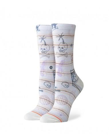 Stance Socks_HIPPIE MOSHPIT CREW _OFFWHITE _W525C19HMC