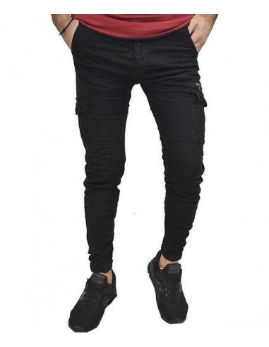 Τζιν Ανδρικό Back 2 Jeans Boyfriend Fit W21 Μαύρο