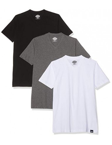 Dickies Mens  MULTI COLOR T-SHIRT PACK -ASSORTED COLOUR -06 210114