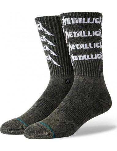 STANCE Socks - Metallica Stack -Black  U556D19MES
