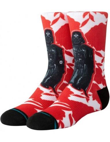 STANCE Socks -Floral Vader Kids- Red K558D19FLV