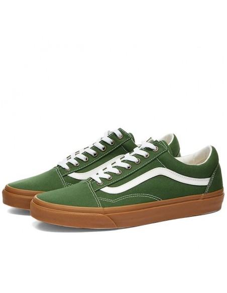 Vans Old Skool (Gum) Greener Pastures/True White - VN0A4U3BWYY