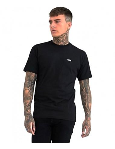 Vans Small Logo T-shirt in Black (VN0A3CZEY28)