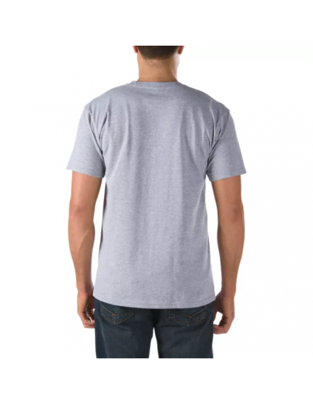 Vans Classic Men's T-shirt Athletic Heather-White (VN000GGG1RQ)