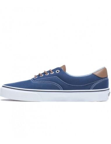 Vans C&L Era 59 Shoes -Dress Blues/Acid Denim (VN0A38FSQ6Z)