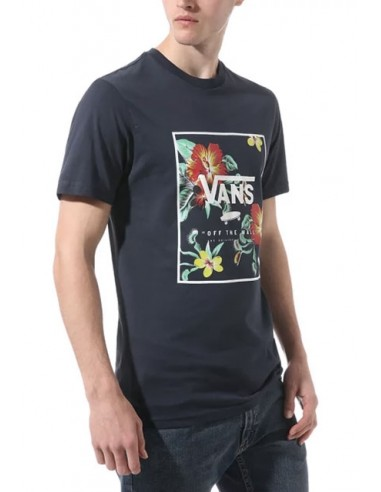 Vans Ανδρικό T-shirt V005Y0E5Z Heather Navy