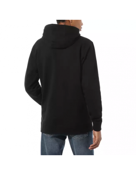 Vans Classic Men's Hoodie  Black-White (VN0A456BY28)