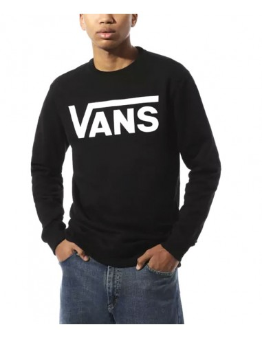 Vans Classic Crew II Sweater -Black-White (VN0A456AY28)