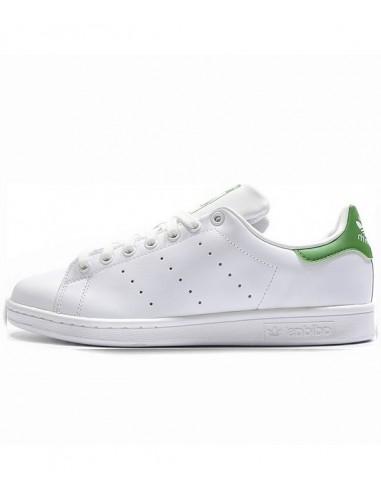 Adidas Originals Stan Smith Shoes WhiteGreen (M20324)