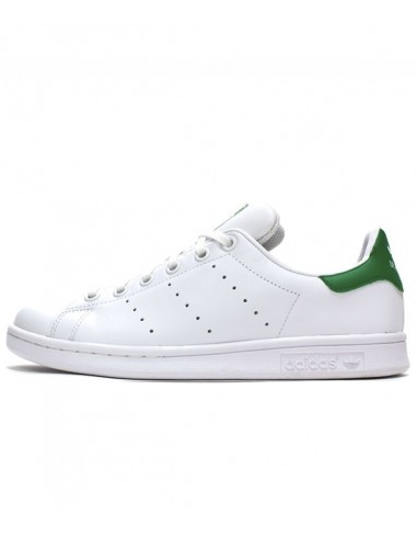 Adidas Stan Smith Shoes -White/Green (M20605)