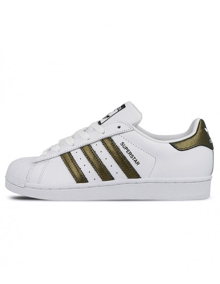 Adidas Originals Superstar White/Gold CG5463