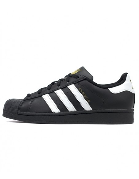 Adidas Originals Superstar Foundation J 3  Black B23642
