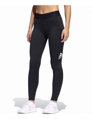 Adidas Originals Alphaskin 3-Stripes Long Tights -Black (FJ7173)
