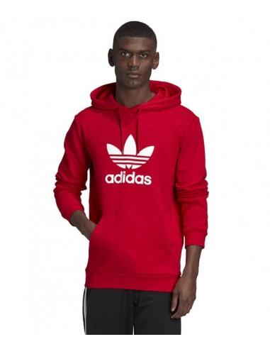 Adidas Originals Trefoil Hoodie Red - (GD9924)