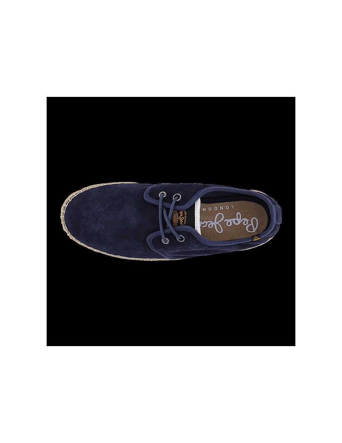 abb1c21a6d0 pepe jeans παπούτσια εσπαντρίγιες μπλέ PMS10039