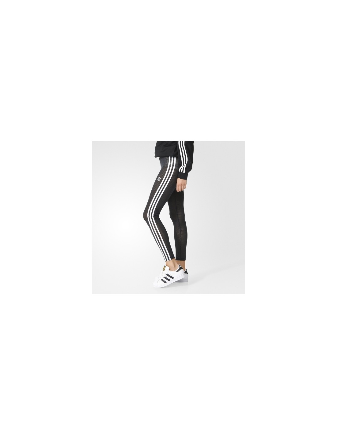 ad131d2d9439f ... Adidas Originals Womens PP Leggings Black/White AA3892 ...
