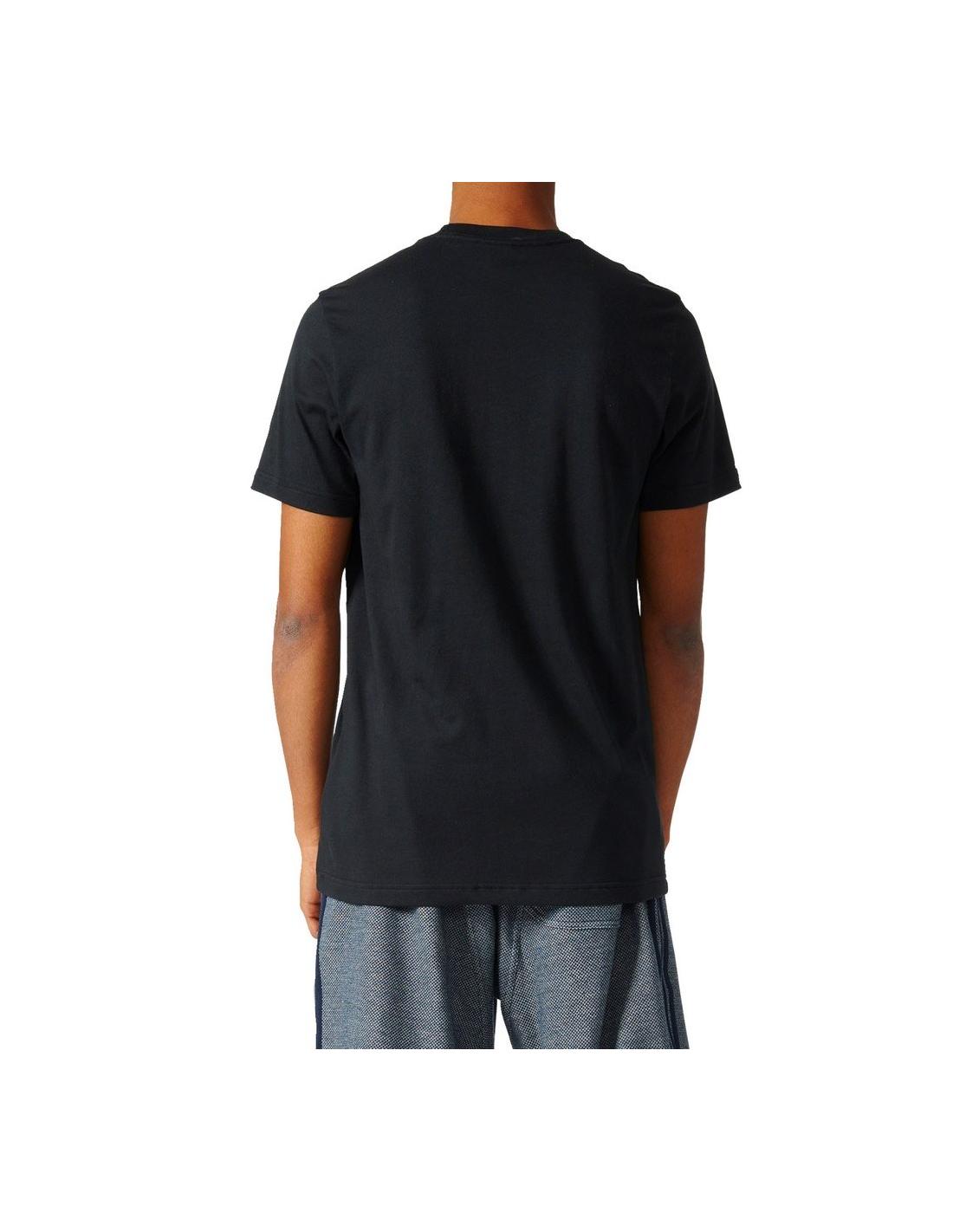 8561ca16ad31 Adidas Originals Mens Trefoil T-Shirt Black BQ3074