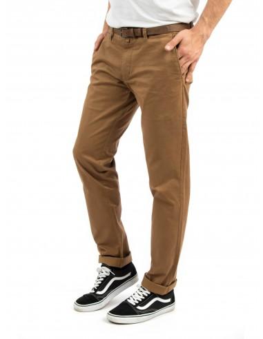 Victory Misha Slim Fit Trousers Mustard