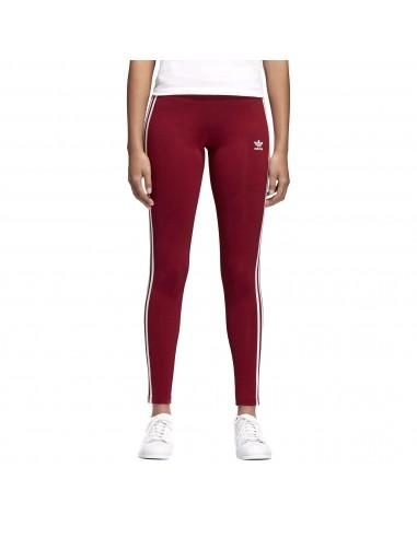 Adidas Originals Womens 3STR Leggings Bordeaux BP9502
