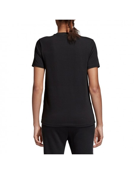 Adidas Originals Womens Trefoil T-shirt Black CQ2117