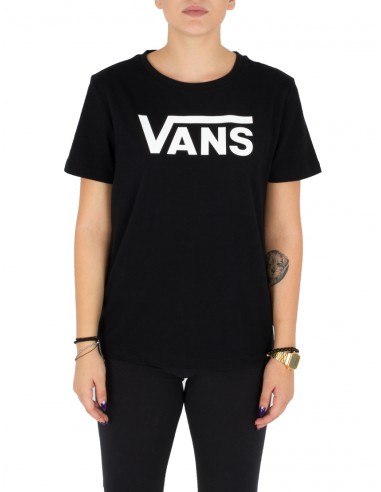 95235e907cf0 Vans γυναικείο κοντομάνικο μαύρο t-shirt VA34AYBLK