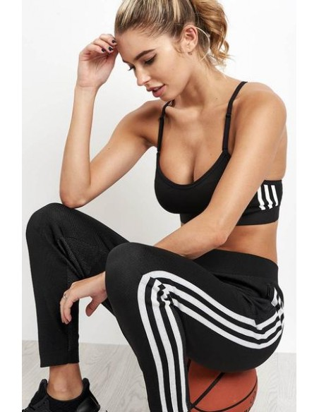 Adidas Originals Womens Cropped Top Black CY4745