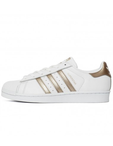 Adidas Originals Superstar White/Gold BA8169
