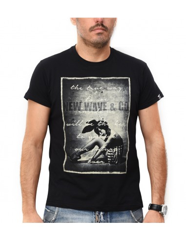 57b265f89904 New wave ανδρικά κοντομάνικα μπλουζάκια tshirt NW100
