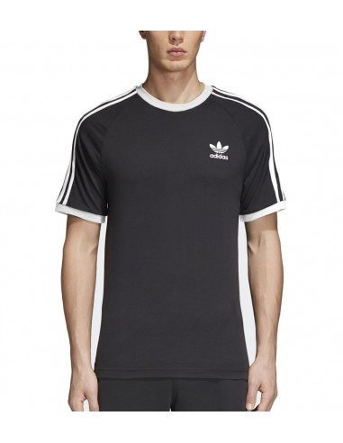 6c5d70844c0 Adidas Originals Mens 3-tripes T-Shirt Black CW1202