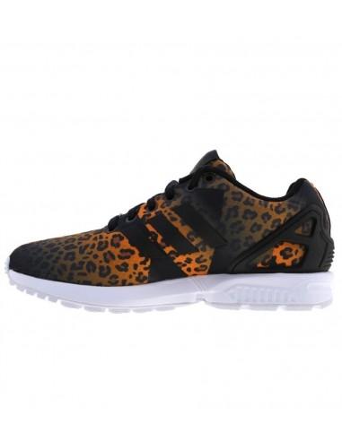 sports shoes f7d70 0d59a Adidas Originals ZX FLUX S75496 Leopard