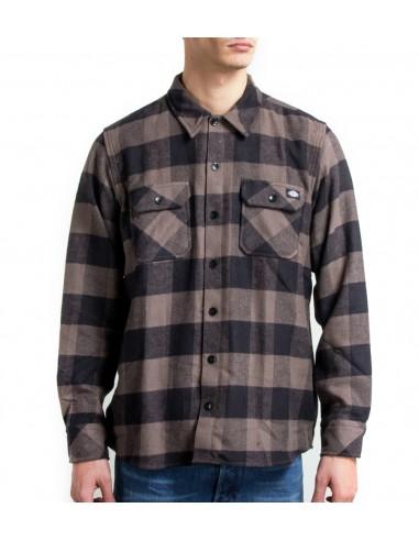 Dickies Mens Shirt 05-200142 Black/white