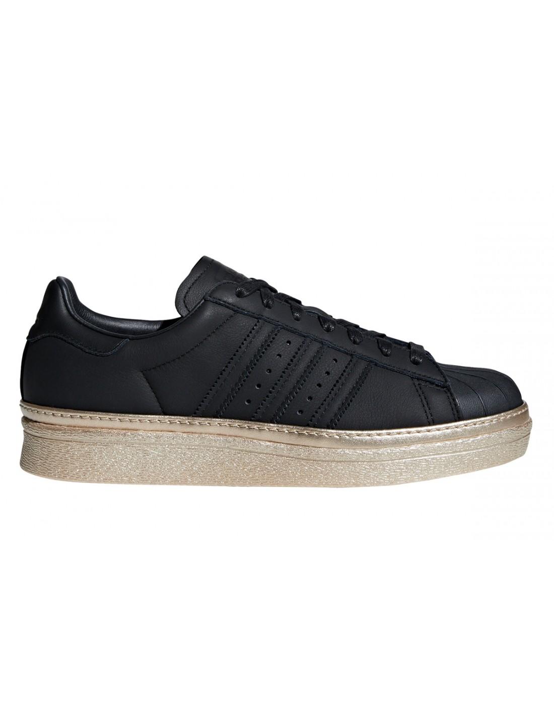 e436482b858 ... Adidas Originals Superstar Bold Black / White BA7667 ...